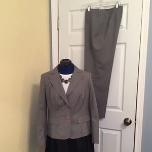 Talbots Petite wool and silk suit